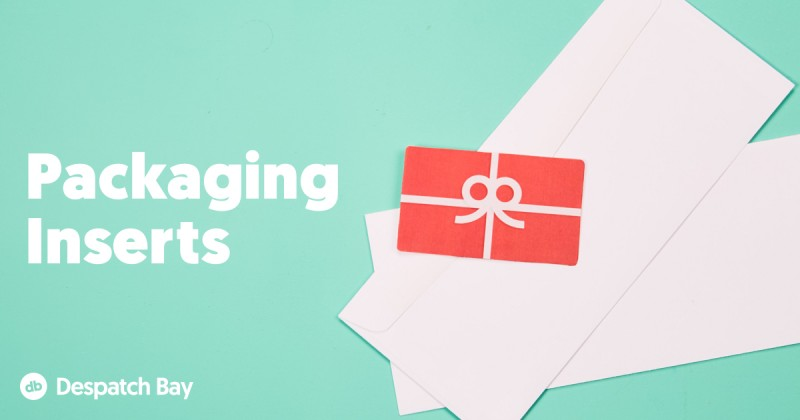 Ecommerce Marketing Opportunities – Packaging Inserts